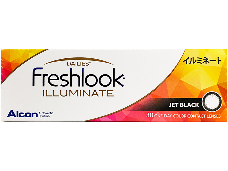 FreshLook Illuminate (Jet Black) 30lens