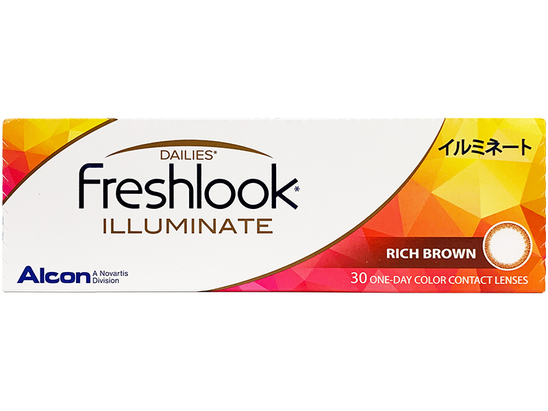 FreshLook Illuminate (Rich Brown) 30lens