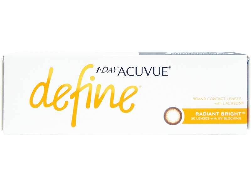 1 Day Acuvue Define Radiant Bright with LACREON