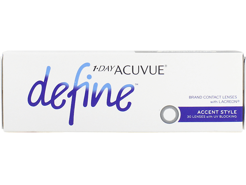 1 Day Acuvue Define Accent Style with LACREON