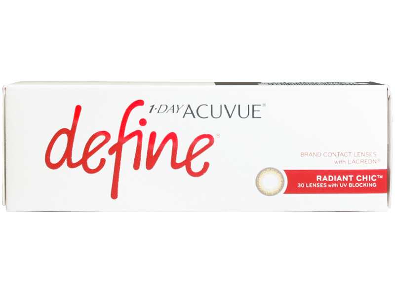 1 Day Acuvue Define Moist Radiant Chic