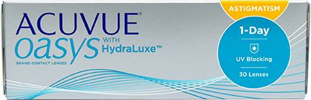 Acuvue Oasys 1-Day with HydraLuxe Astigmatism