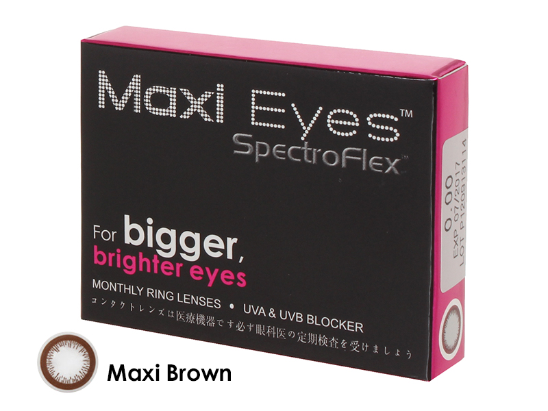 Maxi Eyes Brown Monthly